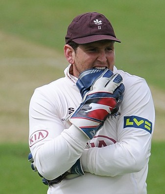Gary Wilson: captained Surrey for most of 2014, but may not be even the county's second-choice 'keeper in 2015