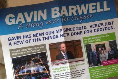 """How much """"Fisher cash"""" went towards paying for Barwell's election campaign?"""