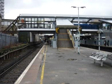 Platform 1 East Croydon Station
