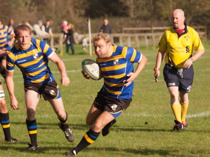Purley John Fisher enjoyed a thrilling win last Saturday, their fourth consecutive league victory