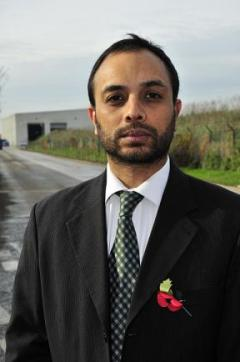 Shasha Khan: urgently needs funds to bring incinerator case to court