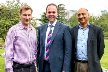Croydon Tories's Three Stooges, Phlip Philp, Barwell and the other one