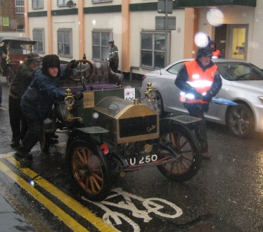 Hundred-old-cars will be coming to a street near you next Sunday