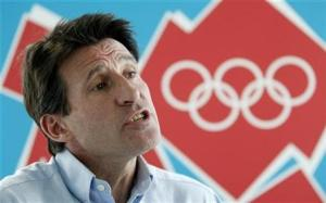 Sebastian Coe: has been winning gold of another sort with CSM companies
