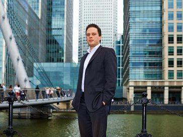 What a banker: Przemek Skwirczynski