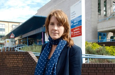 Mayday: the problems with Croydon's ambulances are another concern over the NHS for Labour candidate Sarah Jones
