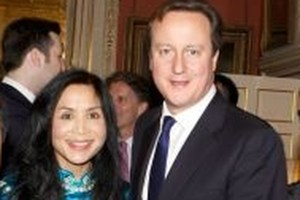 Lady Xuelin Bates is well-known as a donor to David Cameron's Tory Party