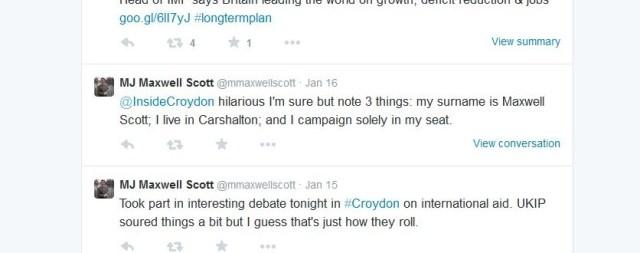 Maxwell Scott tweet