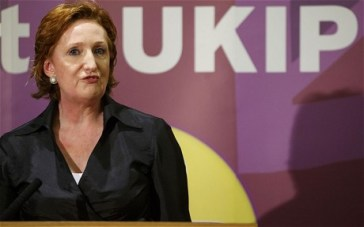 UKIP's deputy chair, Suzanne Evans, to debate her party's policy on foreign aid in Thornton Heath