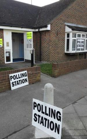 Selhurst polling station