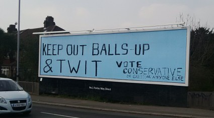 Dirty Tory electioneering