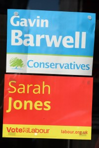 Barwel and Jone election posters