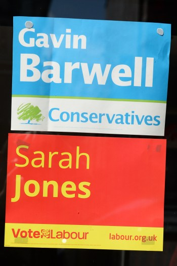Barwel and Jone election posters