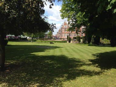 Queen's Gardens, and Croydon Town Hall. Is this public space about to be 'privatised' as part of a secretive deal with developers?