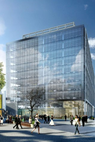 Britain's newest bank is considering moving its HQ offices to this proposed block at East Croydon