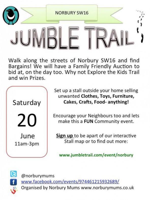 Norbury Jumble trail