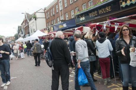 The organisers claimed 11,000 attended last year's South End Food Festival. Perhaps they were all in the pub?
