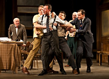 Very angry: the dramatic tension of the jury room has made Twelve Angry Men a stage classic for more than 60 years
