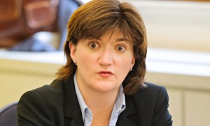 Nicky Morgan, the Tory Education Secretary: her department's reasoning on the New Croydon Academy appears at odds with all other data