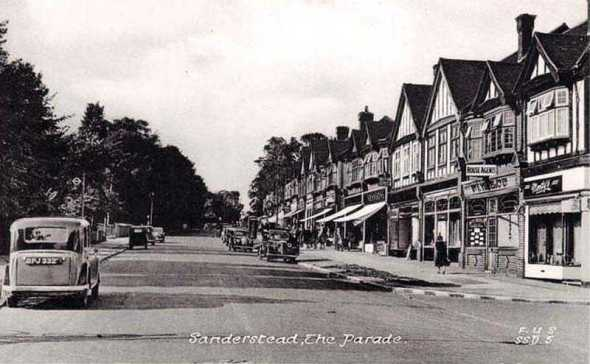 All our yesterdays: Sanderstead as it used to look. And as it pretty much looks today, too