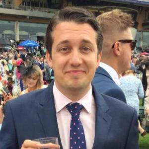 Cheers: Tory councillor Mario Creatura manages to enjoy a day at the races despite holding down two publicly funded jobs