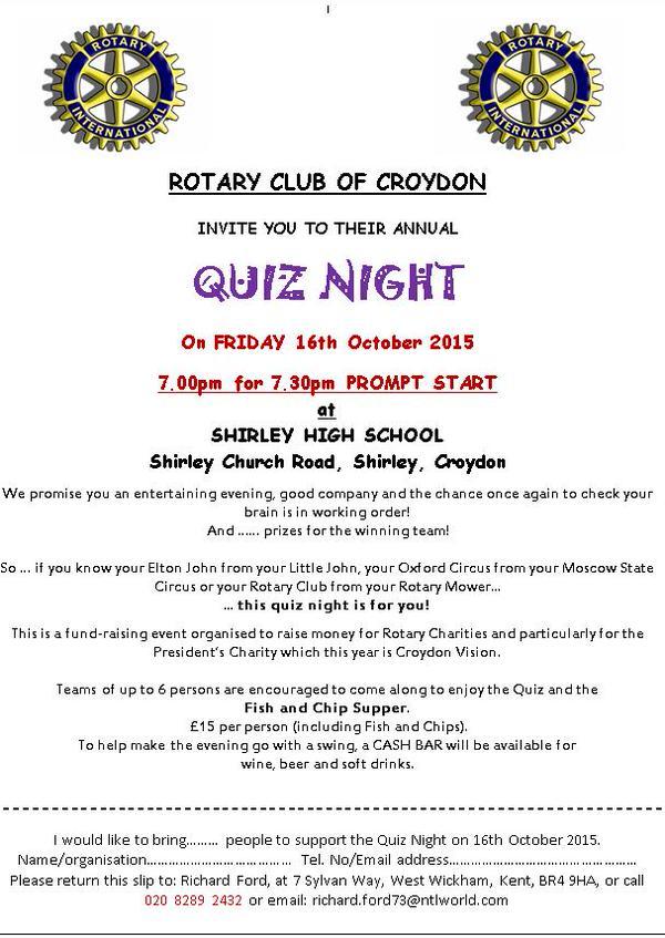 Rotary club event
