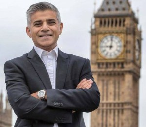 Sadiq Khan: his Mayoral campaign has received £40,000 from property developers, including Croydon's Anwar Ansari