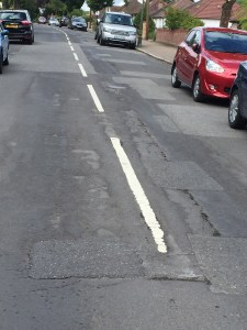 Freezing temperatures, the wrong sort of tar and a backlog of work: what will be Croydon Council's next excuse for the state of Valley Road?