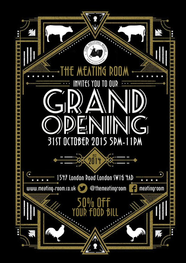 Meating Room opening