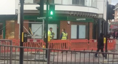 Thornton Heath readies itself for another branch of Paddy Power. Will it be keeping the police as busy as their existing shop?