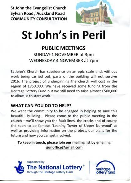 St John's meetings