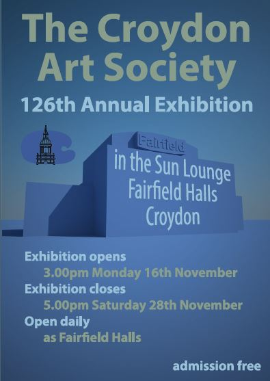 Croydon Arts Society poster