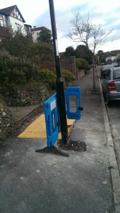 So where would you position a lampost?
