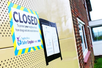 The council home in New Addington will now be closed for at least three months after having been the source of regular nuisance for many months