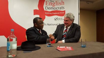 Robin Tilbrook signs up Winston McKenzie for the English Democrats in the same week they signed up a figure with links to the EDL