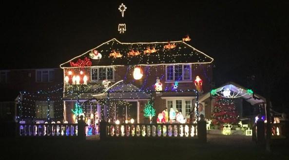 New Addington Christmas lights 1