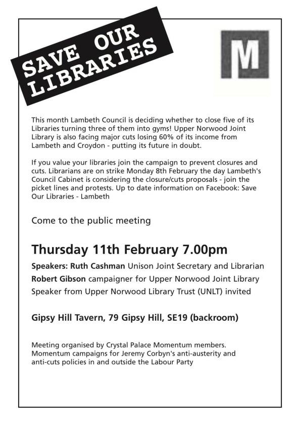 Libraries meeting
