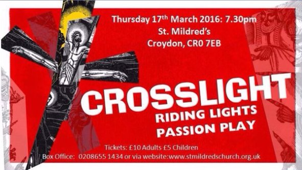 St MIldred's passion play
