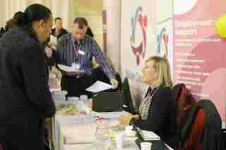 Around 200 people at the 2015 South London Jobs Fair found work or training opportunities