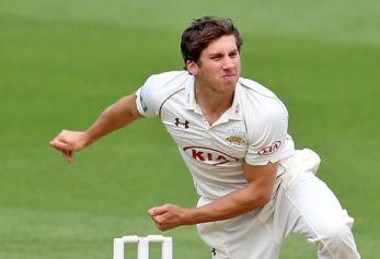 Well spun: Zafar Ansari, tipped for big things by his county team mate