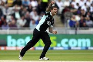 Jade Dernbach: one of Surrey's key players in tomorrow's Lord's final