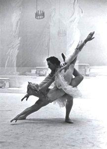 The Bolshoi Ballet performed in London in 1956, including at Croydon's Davis THeatre