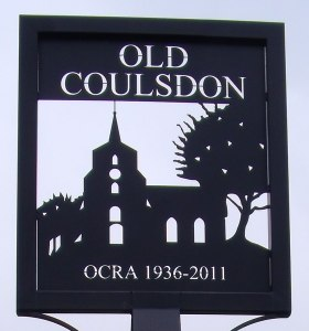 Old Coulsdon sign