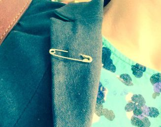 Many people have taken to wearing a safety pin as a symbol to their opposition to post-Brexit bigotry, racism and xenophobia