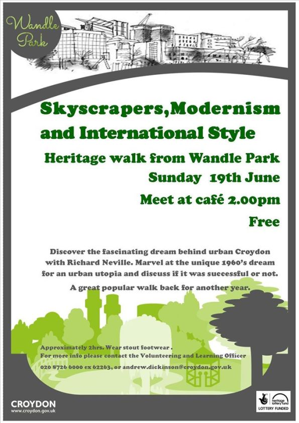 Wandle Park walk