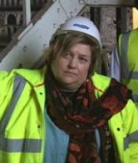 Put her hard hat on: council deputy leader Alison Butler