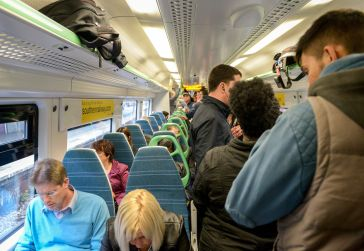 Another overcrowded Southern service: the Tory Government's answer is to axe 350 trains per day