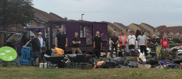The Conservation Volunteers have been busy clearing up a valuable green space in South Norwood