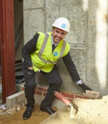 Shirley shome mishtake: Housing Minister Gavin Barwell could be bricking it over house-building