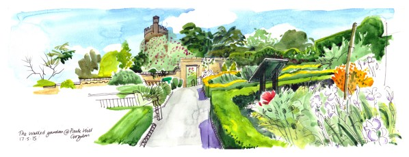 Croydon's parks and green spaces have been a regular inspiration for Lis Watkins. Copyright Lis Watkins